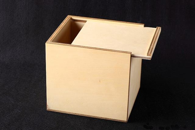 シナ合板木箱